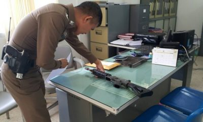 Krabi man arrested after shooting his friend with an M16 rifle | The Thaiger