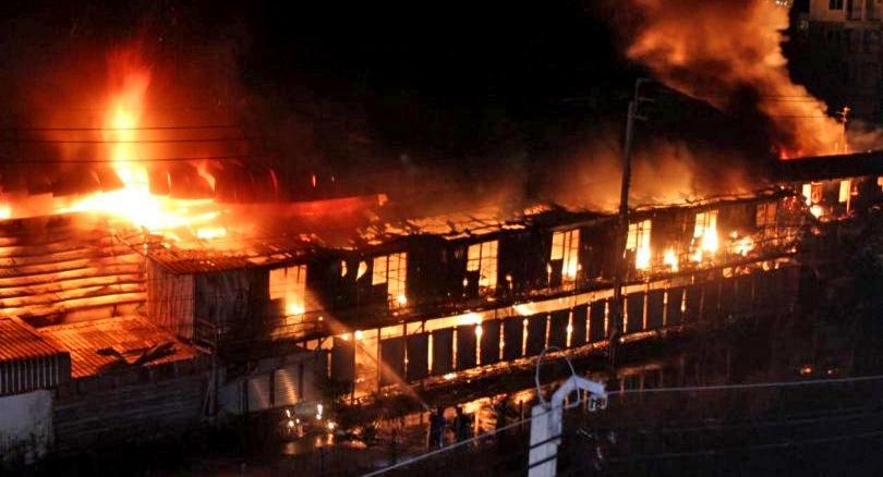 Huge fire in Bangkok guts recycling plant | News by Thaiger
