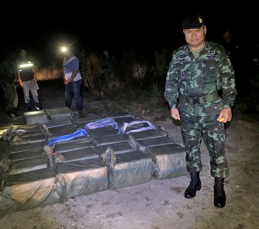 Second major shootout and drug haul in Chiang Rai this week | News by The Thaiger