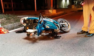 Motorcyclist dies after collision with power pole in Koh Kaew | The Thaiger