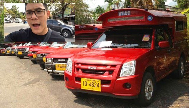 """""""Chiang Mai red buses are a rip-off"""" - Ratchanont Suprakob   News by Thaiger"""