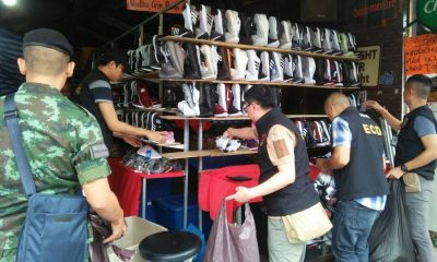 Fake goods seized in Patong and Central Festival | The Thaiger