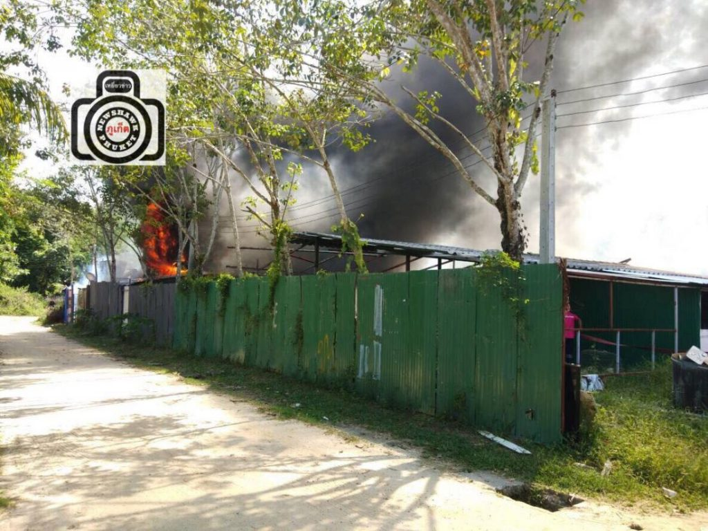Two workers' camps go up in flames within four hours | News by Thaiger