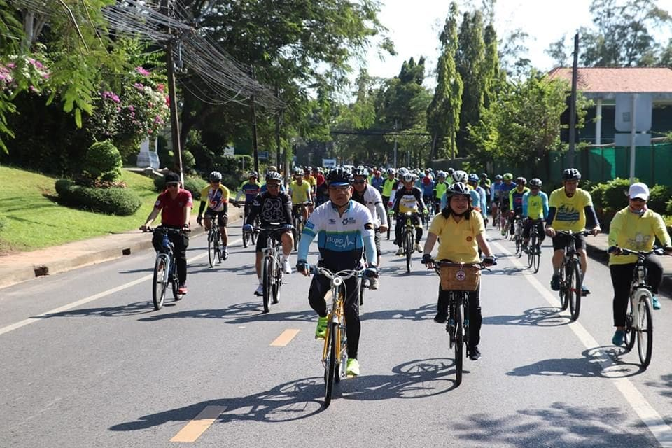 1,000 riders join dress rehearsal for next week's 'Bike Un Ai Rak' | News by The Thaiger