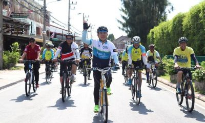The wheels are rolling for today's Bike Un Ai Rak around Thailand | The Thaiger