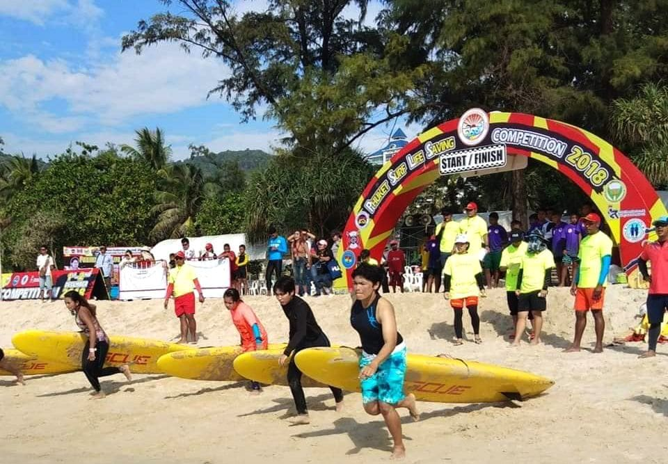 Phuket surf lifesavers wrap up local comp at Patong Beach | The Thaiger