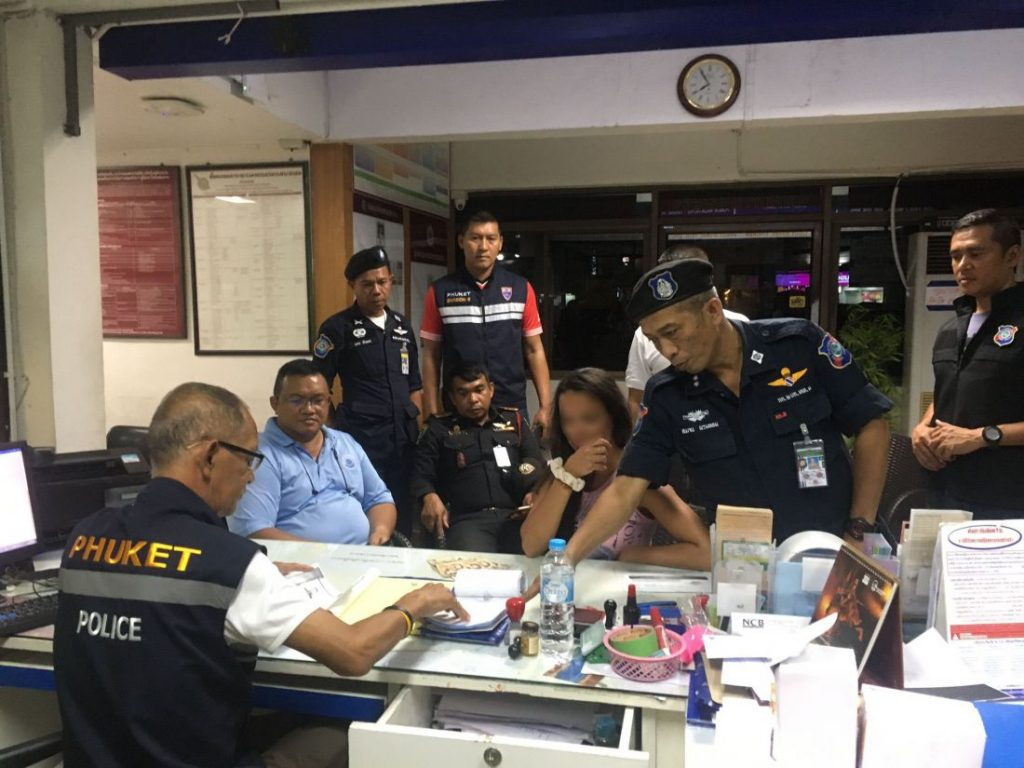 Russian woman fined after graffiti on road in Nai Harn, Rawai | News by Thaiger
