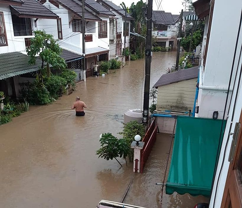Southern provinces battered by heavy rains and floods | News by The Thaiger