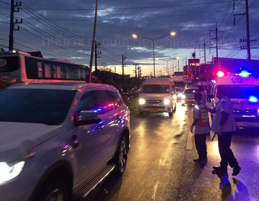 Pedestrian killed in Thalang after being hit by taxi | News by Thaiger