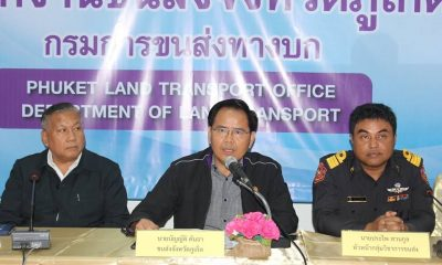 Reward offered to passenger who reported Phuket's multi-tasking bus driver | The Thaiger