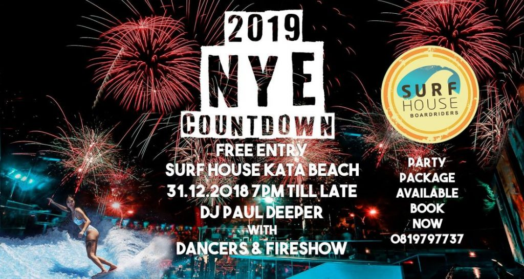 Top 10 party countdowns for new years eve in Phuket 2019 | News by The Thaiger