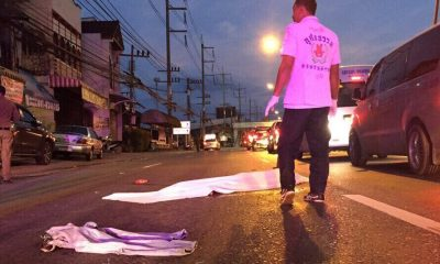 Pedestrian killed in Thalang after being hit by taxi | The Thaiger