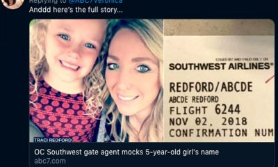 Airline staff mock young girl over her name – Abcde | The Thaiger