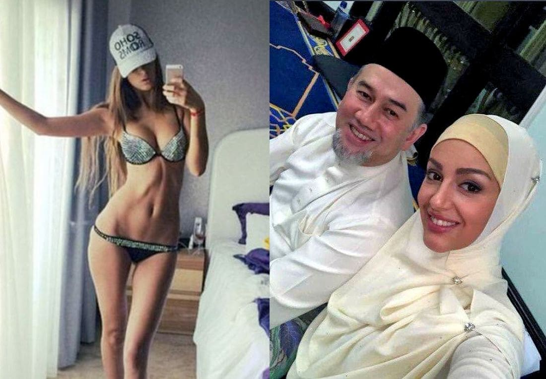 Russian model becomes Queen of Malaysia after marrying Muslim king | The Thaiger