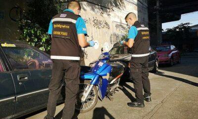 10 million baht gem heist getaway motorcycle belonged to dead Thai man | The Thaiger