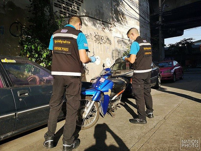 10 million baht gem heist getaway motorcycle belonged to dead Thai man | The Thaiger