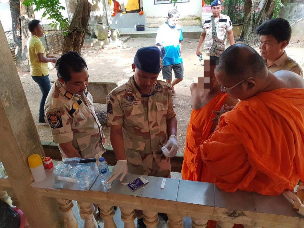 Eight Phuket monks defrocked after testing positive for drugs | News by Thaiger