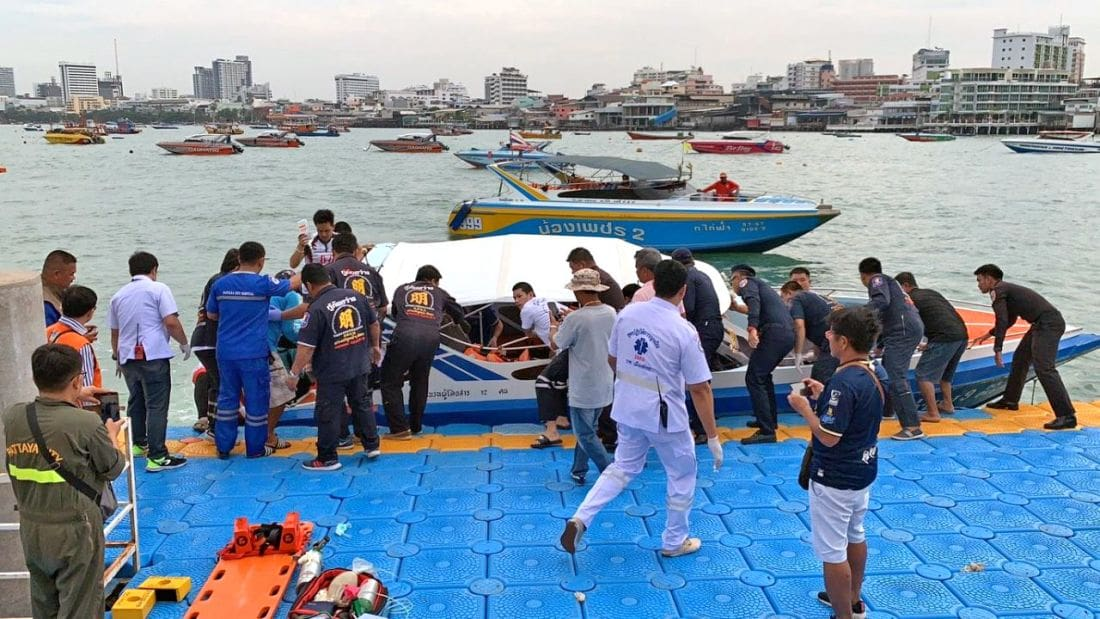 Two die in Pattaya ferry engine room tragedy | The Thaiger
