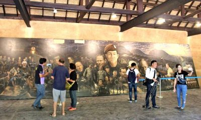 Cave-rescue mural now moved to official Tham Luang memorial | The Thaiger