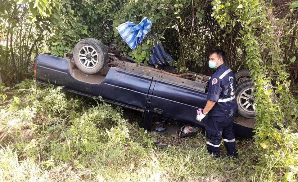 Phichit collision kills three, injures four | The Thaiger