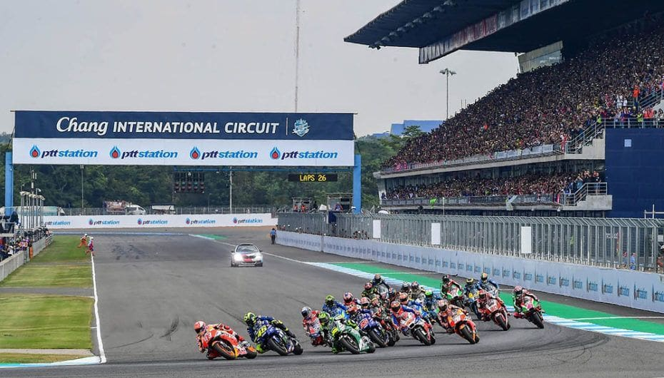 PTT Thailand Grand Prix in Buriram voted best of 2018 | News by The Thaiger