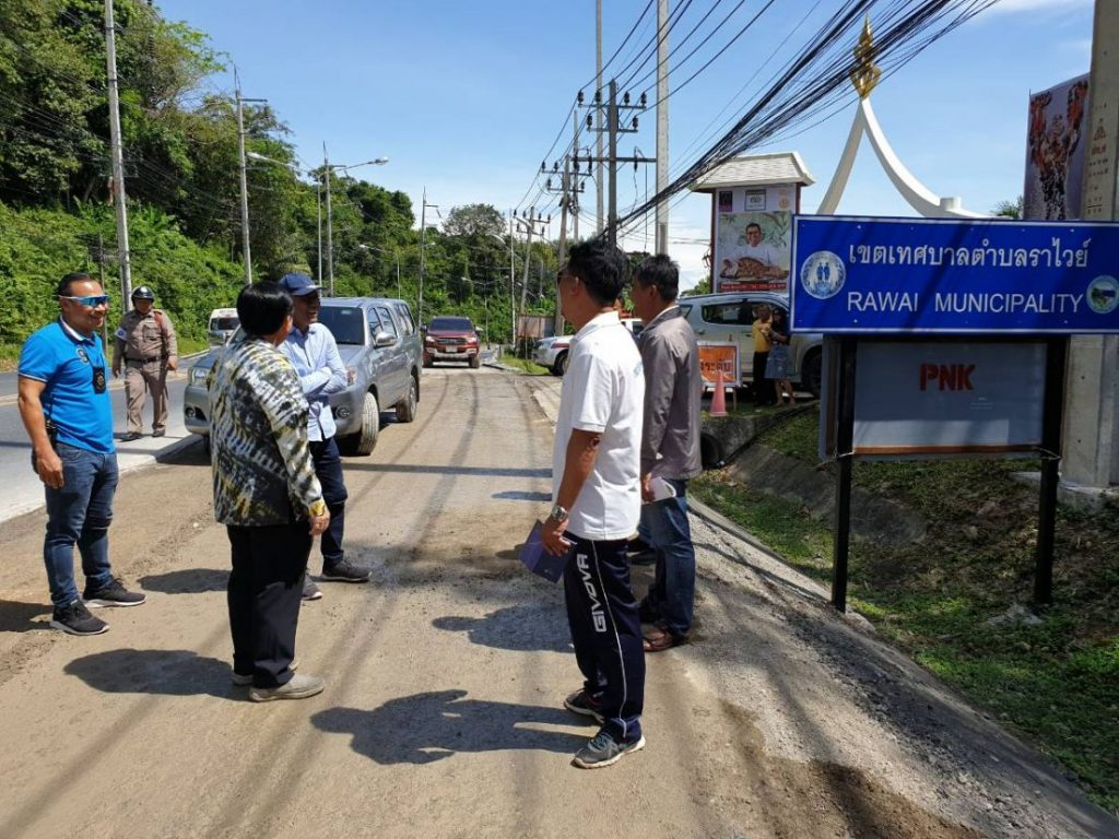 Officials warn motorists about road construction along Patak Road | News by The Thaiger