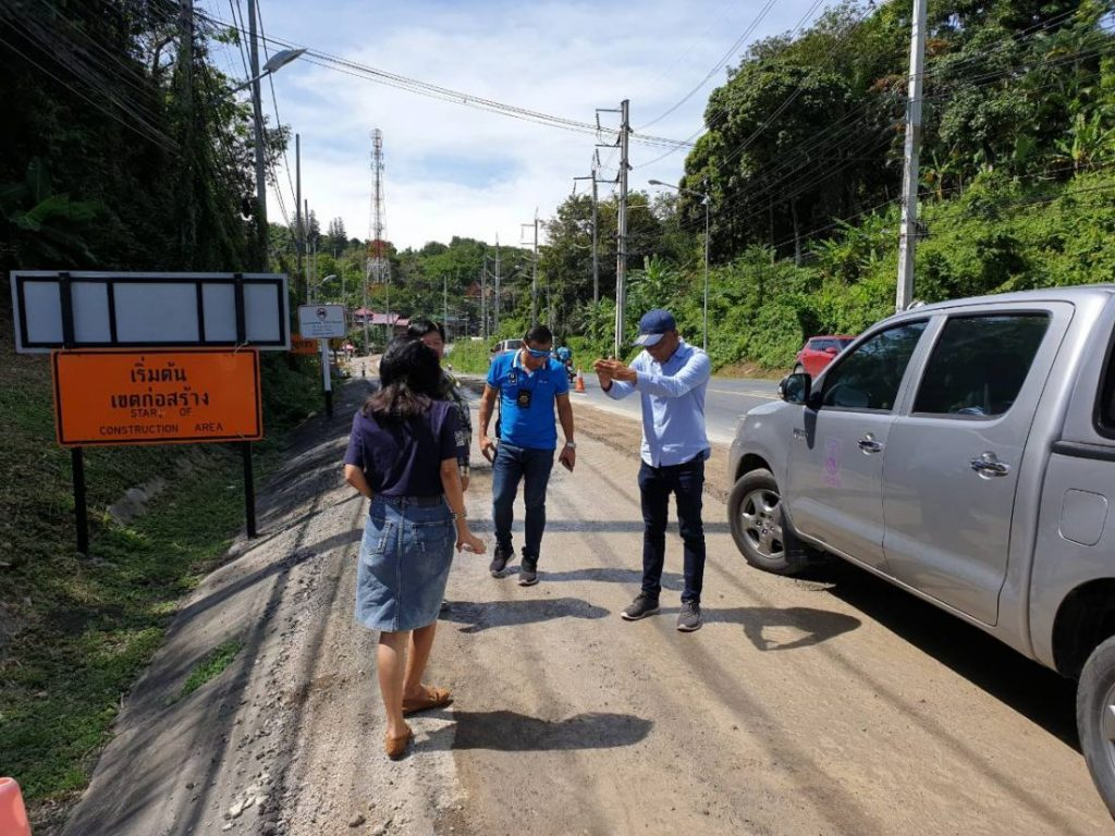 Officials warn motorists about road construction along Patak Road   News by Thaiger