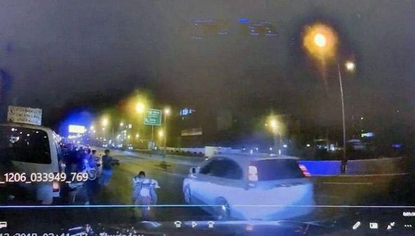 Police hunt gunman after man watching road racing is shot | The Thaiger
