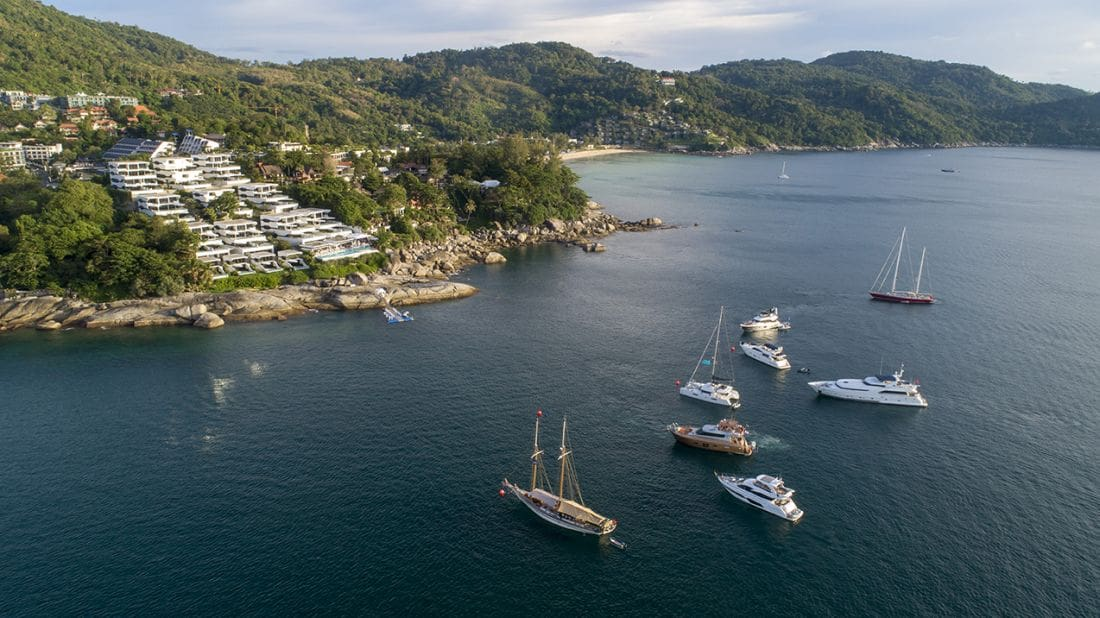 Kata Rocks Superyacht Rendezvous 2018 – Raises the bar again | The Thaiger
