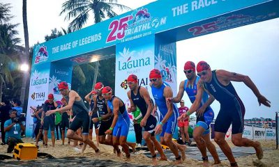 Laguna Phuket Triathlon's date announced – Registration opens today | The Thaiger