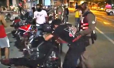 100 illegal road racers invade Pattaya roads | The Thaiger
