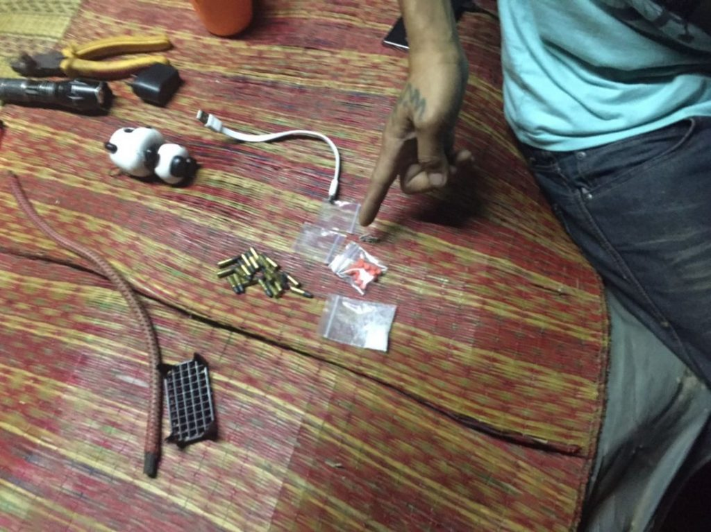 Four arrested with guns and drugs in Chalong | News by The Thaiger