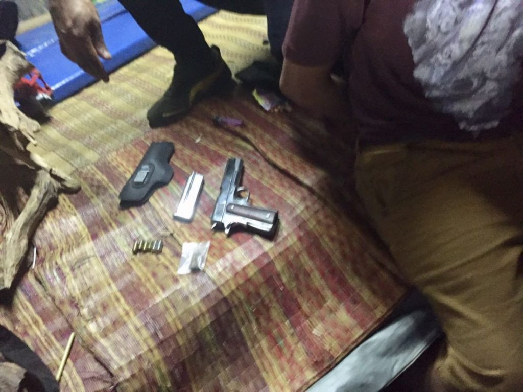 Four arrested with guns and drugs in Chalong | News by Thaiger