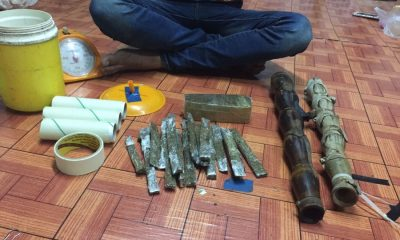 Four arrested with guns and drugs in Chalong | The Thaiger