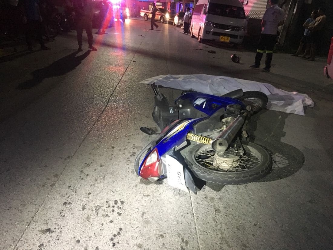 Man killed in Phuket road accident   The Thaiger