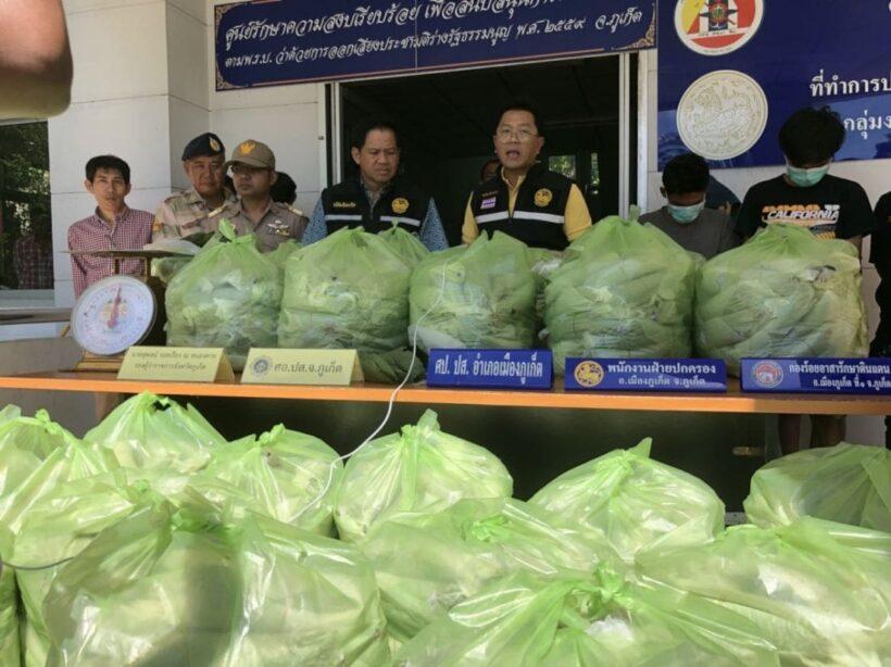 Seven arrested with 500 kilograms of kratom in Phuket | The Thaiger