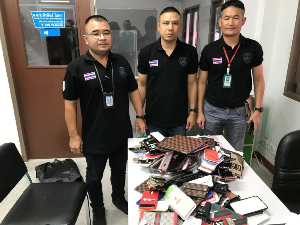 Fake goods seized in Patong and Central Festival   News by The Thaiger