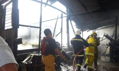 Fire destroys wooden house in Wichit   The Thaiger