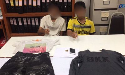 Two youths arrested over bag snatching in Phuket Town | The Thaiger