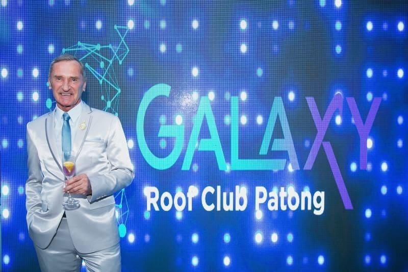 """เปิดตัวอย่างเป็นทางการ """"GALAXY Roof Club Patong""""   News by The Thaiger"""