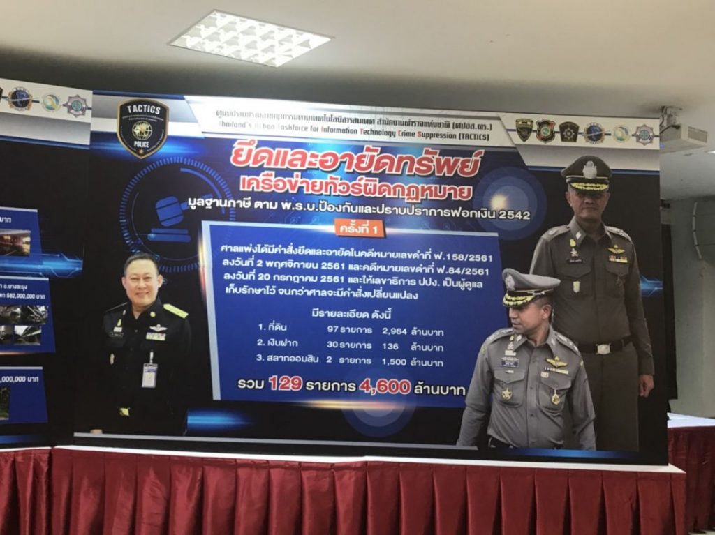 4,600 million baht in assets seized from illegal tour company | News by Thaiger
