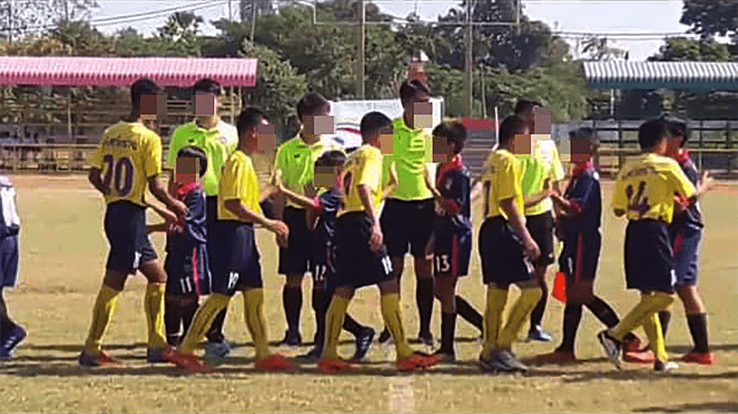 Chiang Mai football team cries foul over 'big' Under 12 team | The Thaiger
