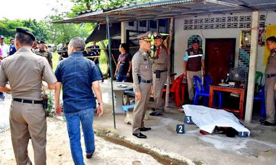 Former prisoner shoots man's son as 'revenge' | The Thaiger
