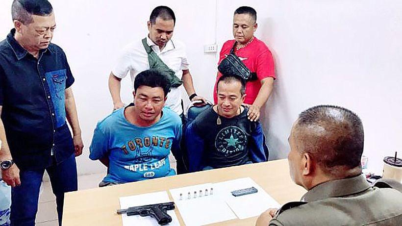 Former prisoner shoots man's son as 'revenge'   News by The Thaiger