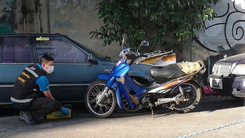 10 million baht gem heist getaway motorcycle belonged to dead Thai man | News by Thaiger