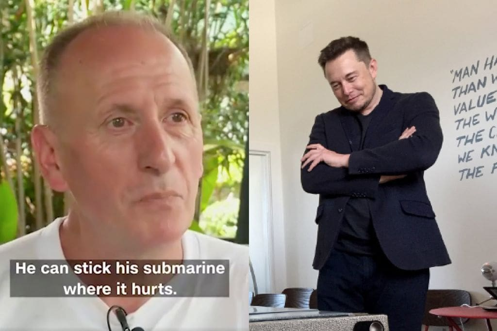 Elon Musk asks court to throw out cave rescue diver's lawsuit | The Thaiger