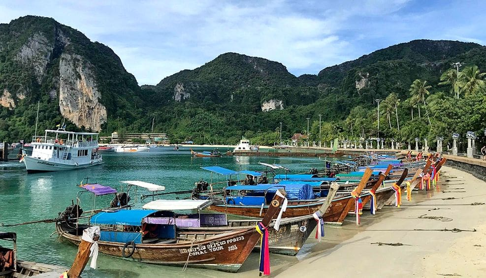 Koh Phi Phi has to address critical water problems   The Thaiger