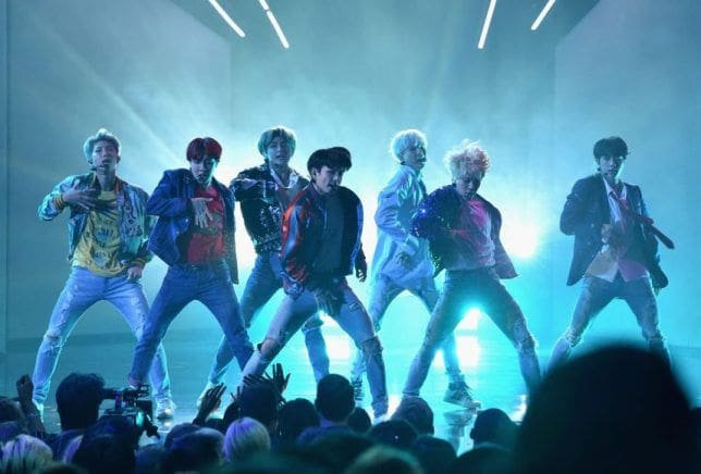 BTS sweeps first night of Asian Music Awards | The Thaiger