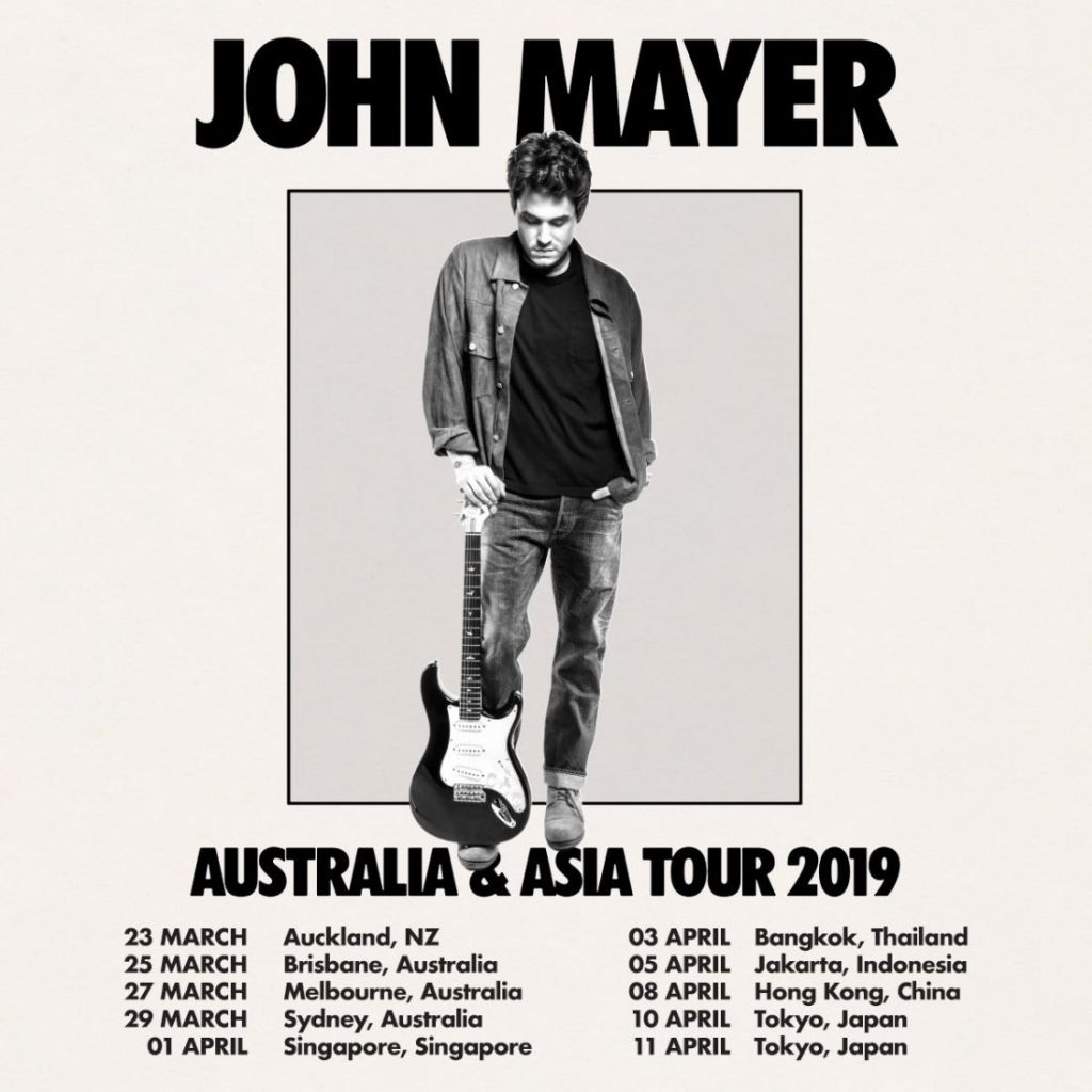 John Mayer coming to Bangkok for the first time | News by The Thaiger