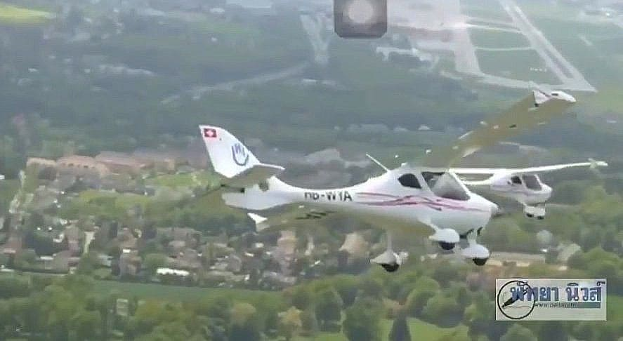Round the world handicapped pilot crashes in Chon Buri | The Thaiger